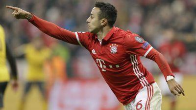 Bayern Munich routs Arsenal to put foot in Champions League quarterfinals