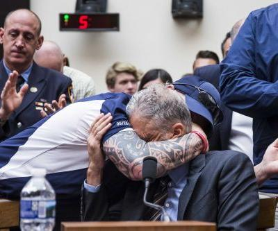 These are some of the 9/11 first responders who brought Jon Stewart to tears