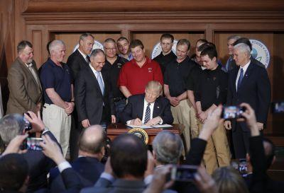 Here's how Trump's new executive order will dismantle Obama's efforts to reverse climate change