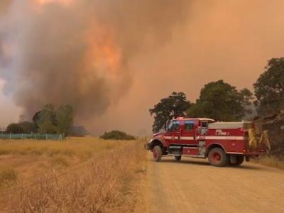 Mendocino Complex largest wildfire incident in California history