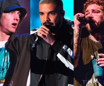 Drake, Post Malone, Eminem and Others Named Most Streamed Artists of the 2010s