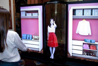 LG's latest ridiculous OLED screen is transparent, flexible, and taller than Tom Cruise