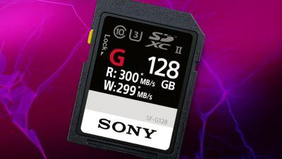 The next 'world's fastest' SD card belongs to Sony