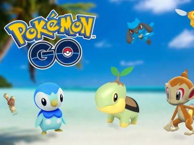 Sinnoh region Pokemon should now be appearing in Pokemon Go
