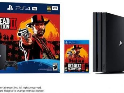 Red Dead Redemption 2 PS4 Pro Bundle Pre-Order And Release Date Guide