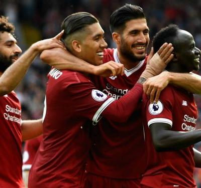 Mane 'a lucky boy' to have Salah and Firmino support
