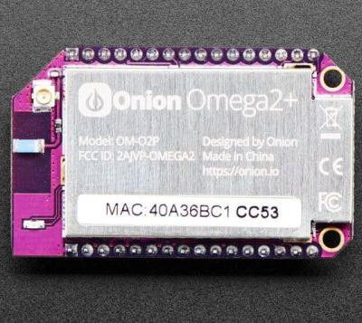 Onion Omega2 + Linux Based Internet Of Things Computer