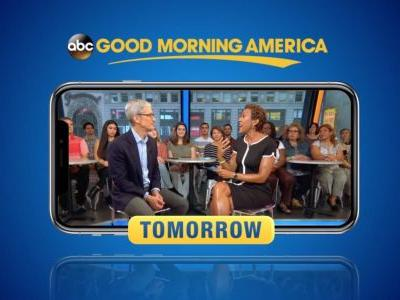 Tim Cook to appear on Good Morning America tomorrow morning to talk iPhone XS & more
