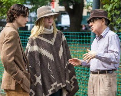 Woody Allen's new film will probably never come out