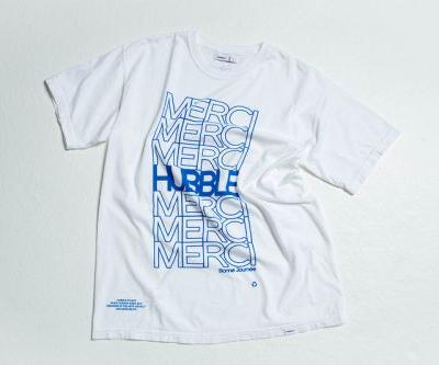 "Hubble Studio Looks Ahead to Paris Fashion Week With New ""Merci"" T-Shirt"