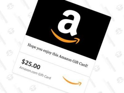 Your No-Brainer Deal of the Day: Buy a $25 Amazon Gift Card, Get a Bonus $5