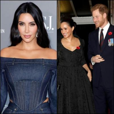 Kim Kardashian 'Can Empathize' With Duchess Meghan and Prince Harry on Privacy and Having a 'Safe Space'