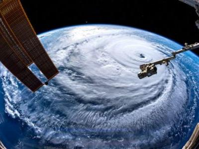 Satellites Track, Illustrate Incoming Hurricane Florence