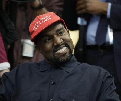 Kanye West rolls into impromptu 10-minute speech during Oval Office meeting