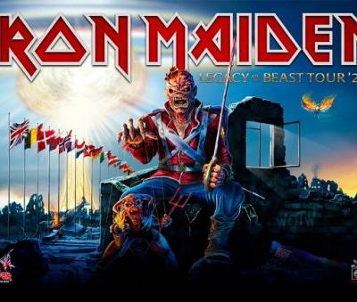 IRON MAIDEN's European 'Legacy Of The Beast' Summer Tour Postponed Until 2022