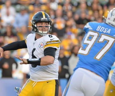 Steelers jolt Chargers for win in undrafted rookie QB Devlin Hodges' first start