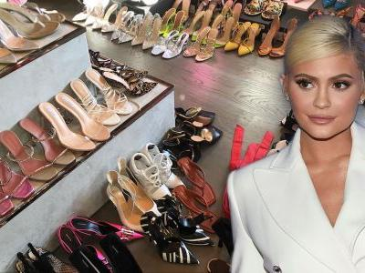 Kylie Jenner's Shoe Collection Will Even Make Carrie Bradshaw Jealous - Take a Tour of Her Closet!