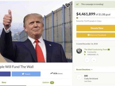 A triple-amputee military vet raises $2.5 million for Trump's border wall in four days