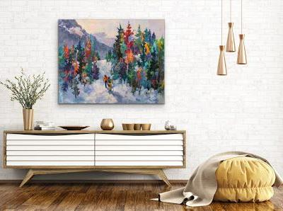 Is finding artwork for your home stressful or joyful?? I can help!