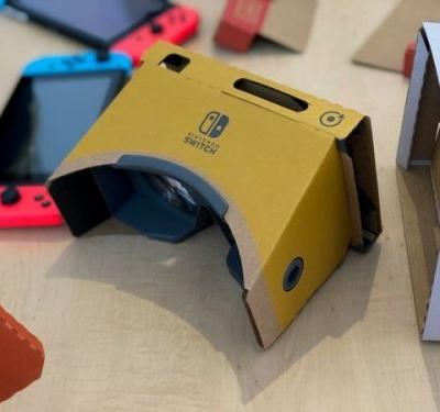 A huge wave of brand-new details on the Nintendo Labo VR Kit