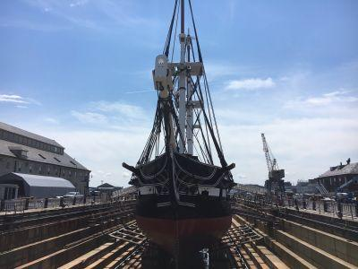 USS Constitution, world's oldest warship, returning to Boston waters