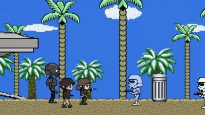Star Wars Rogue One Makes An Adorable 8-Bit Game