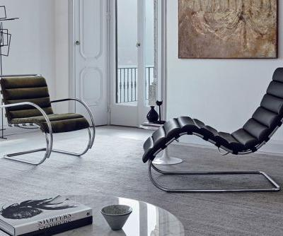 Knoll Updates Mies van der Rohe Tubular Steel Furniture With New Finishes