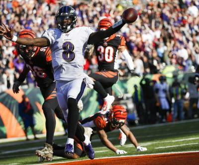 Ravens rout winless Bengals 49-13
