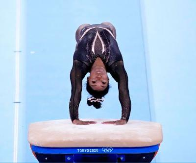 Opinion: Simone Biles can turn the most mundane of trainings into something spectacular