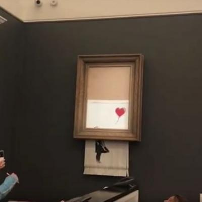 Banksy will exhibit his work in Hong Kong for the first time