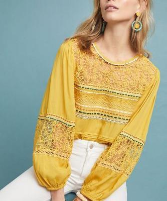 13 Anthropologie Tops to Score While They're 20% Off