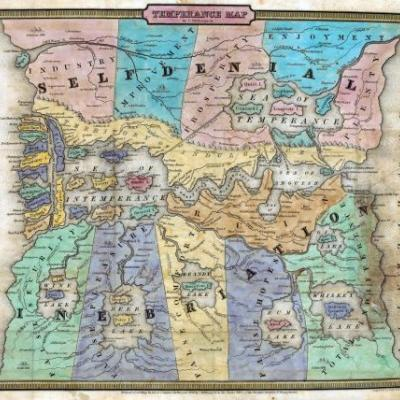 The Road to Prohibition Was Due North of the Gulf of Wretchedness, According to These Maps