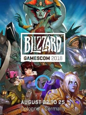 Blizzard gamescom 2018 schedule: Overwatch, WoW, Diablo presentations, more