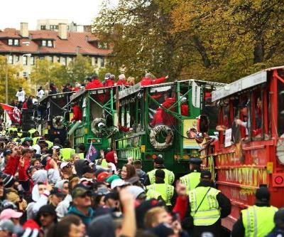 Red Sox celebrate World Series triumph with parade