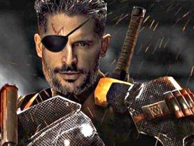 Deathstroke Goes Unmasked in New Justice League Photo
