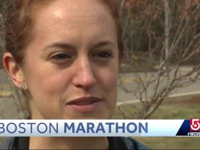 'Cancer couldn't stop me,' Boston Marathon runner says