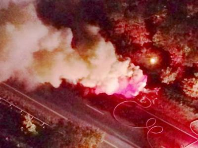 Truck fire shuts down section of Route 6 in Bourne
