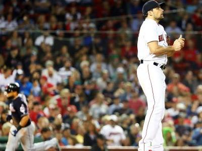 MLB wrap: Nathan Eovaldi surrenders 10 hits in Red Sox loss to Indians