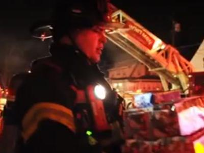 'We are so grateful': Firefighters salvage Christmas gifts from house fire