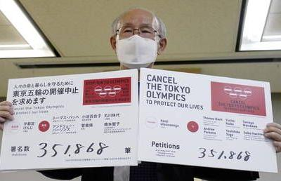 Japan expands Covid-19 emergency area as 350,000 people sign petition demanding Olympics are scrapped
