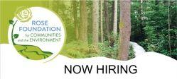 Development & Communications Manager / Rose Foundation for Communities and the Environment / Oakland, CA