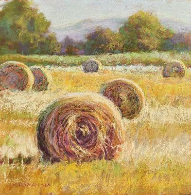 """Hay Bales 6 - """"Before and After!"""""""