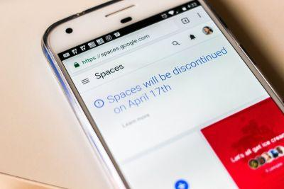 Google is shutting down Spaces after only nine months