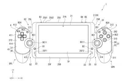 Recently-published Sony patent shows off device very similar to Switch