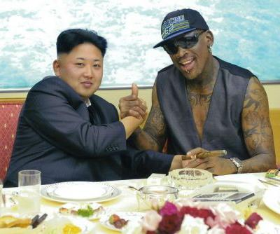 Dennis Rodman Plans to Invite Kanye West to North Korea