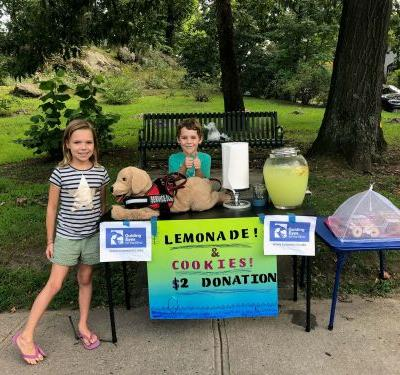 When life gives you lemons, this family makes lemonade.for guide dogs