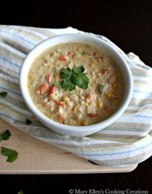 Spicy Quinoa Corn Chowder