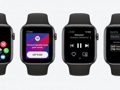 Comment: Spotify's Apple Watch app isn't great, but it's a step in the right direction for watchOS