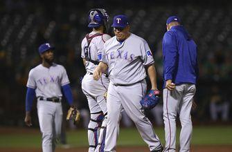 Rangers pitcher Colon goes on disabled list with back strain