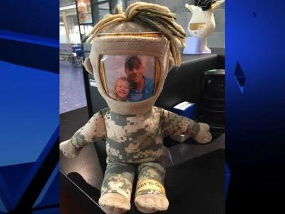 KCI employee needs your help reuniting lost Daddy military doll with little girl